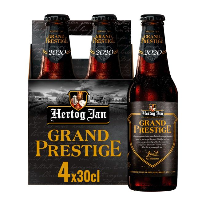 4 x 30 cl Hertog Jan Grand Prestige