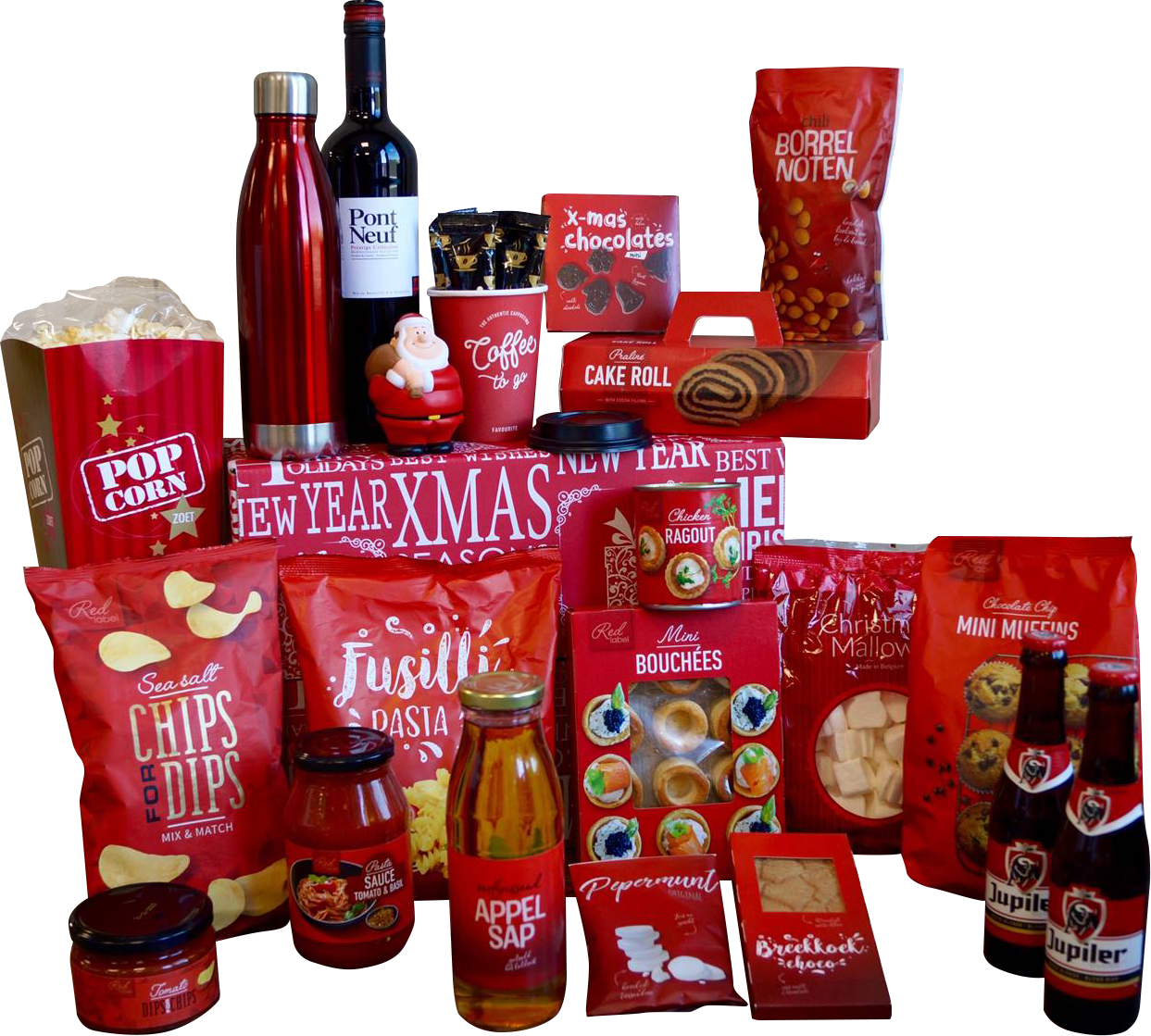 Kerstpakket Big Red