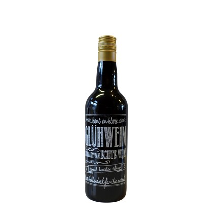 Glühwijn, 10% alcohol, 75 cl